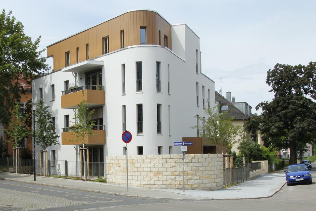 Blick von der Wittenberger Straße